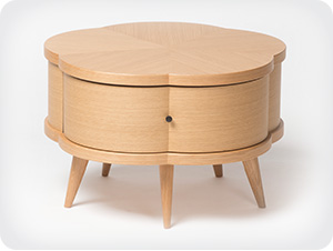 Blossom-single drawer coffee tables