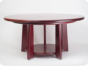 Dining Table in Purpleheart