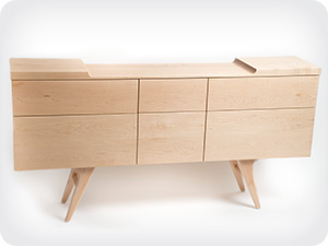 Wing Sideboard in Maple