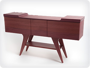 Wing Sideboard in Purpleheart