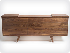 Wing Sideboard in Walnut